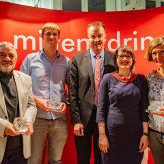 Heimatverein Tangerhütte e.V., Till Gaßmann, Burkhard Lischka, Katja Pähle und Gerrit Möhrke